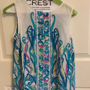 Lilly Pulitzer size small silk blouse